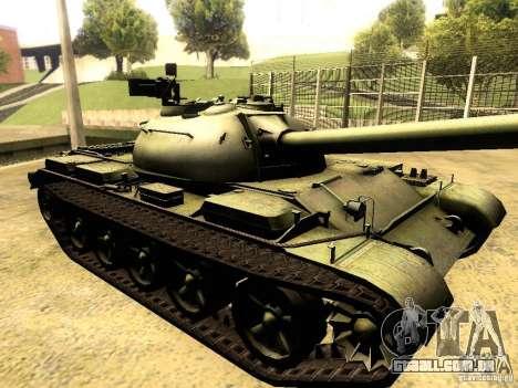 Type 59 V2 para GTA San Andreas vista traseira