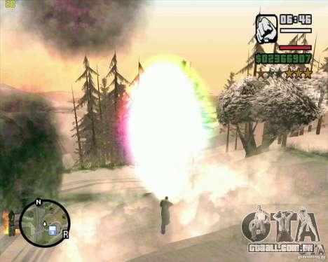 Masterspark para GTA San Andreas quinto tela