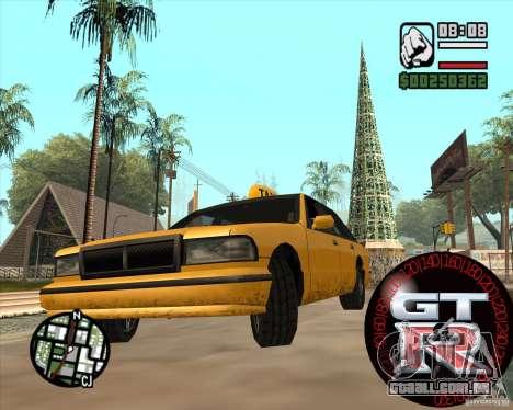 Velocímetro GT-R para GTA San Andreas