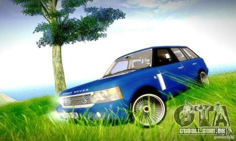 Range Rover Supercharged para o motor de GTA San Andreas