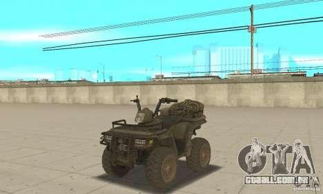 Novo Atv para GTA San Andreas