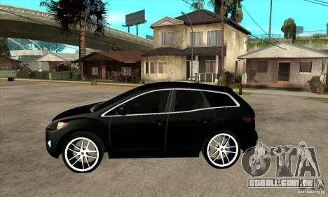 Mazda CX-7 para GTA San Andreas esquerda vista