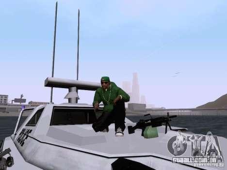 NEW Predator para vista lateral GTA San Andreas