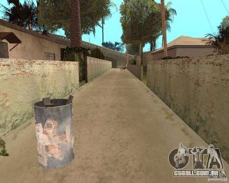Remapping Ghetto v.1.0 para GTA San Andreas sexta tela