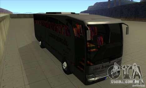 Mercedes-Benz Travego para GTA San Andreas vista traseira