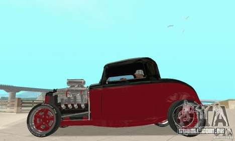 Ford Hot Rod 1932 para GTA San Andreas vista direita