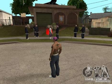 Ballas 4 Life para GTA San Andreas segunda tela