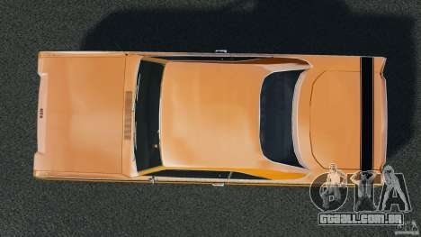 Dodge Dart GTS 1969 para GTA 4 vista direita
