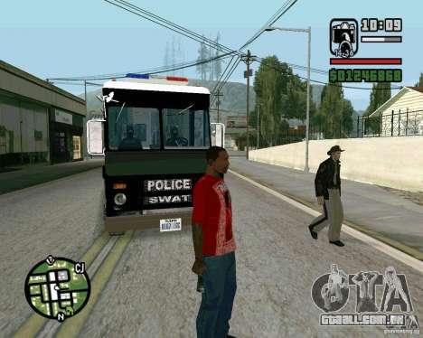 Novo xerife para GTA San Andreas terceira tela