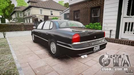 Chrysler New Yorker LHS 1994 para GTA 4 vista interior