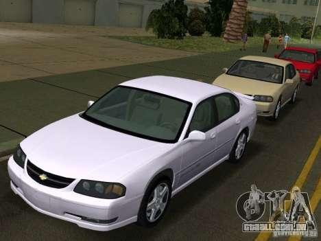 Chevrolet Impala SS 2003 para GTA Vice City