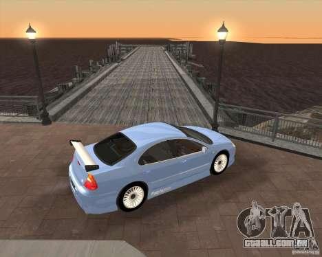 Chrysler 300M tuning para GTA San Andreas traseira esquerda vista