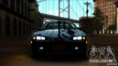 Mitsubishi Eclipse GSX 1999 para GTA San Andreas vista direita