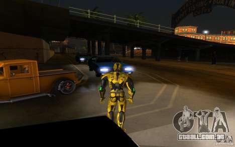 Cyrax 2 de Mortal kombat 9 para GTA San Andreas segunda tela