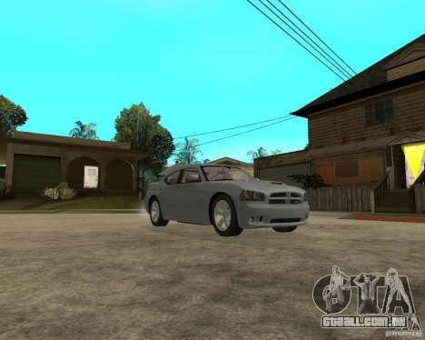 Dodge Charger SRT8 para GTA San Andreas vista traseira