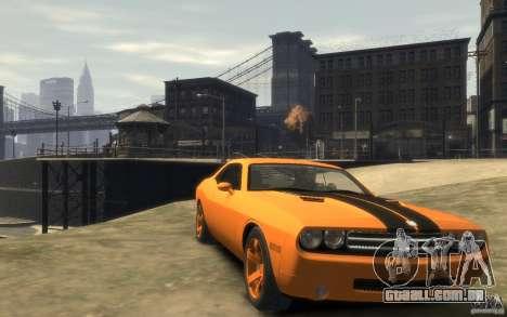 Dodge Challenger Concept para GTA 4 vista de volta