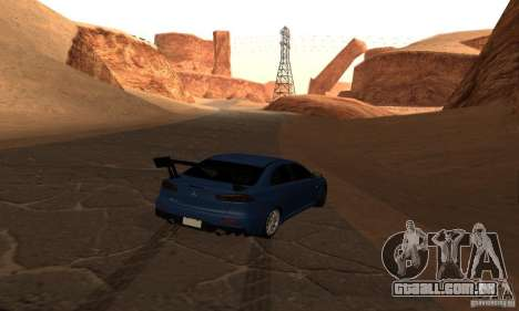 New Drift Zone para GTA San Andreas oitavo tela