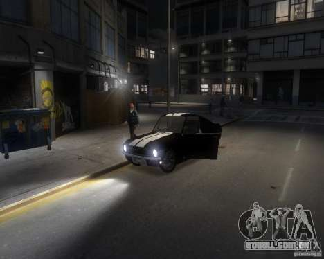 Ford Mustang Tokyo Drift para GTA 4 vista lateral
