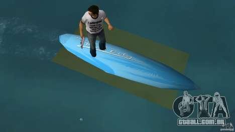 Surfboard 3 para GTA Vice City vista direita