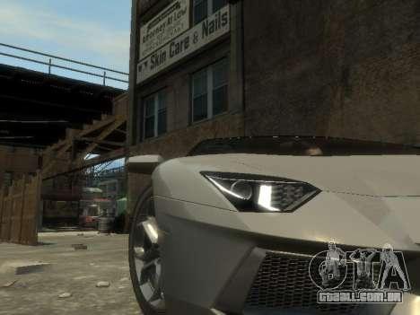 Lamborghini Aventador LP700-4 EPM para GTA 4 vista lateral