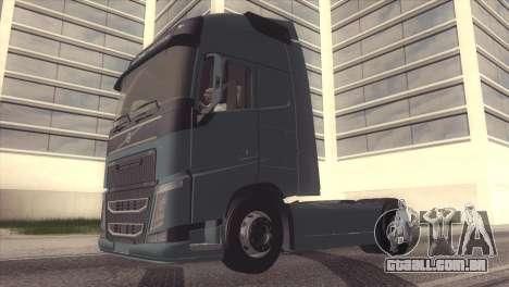 Volvo FH 2013 para GTA San Andreas vista interior