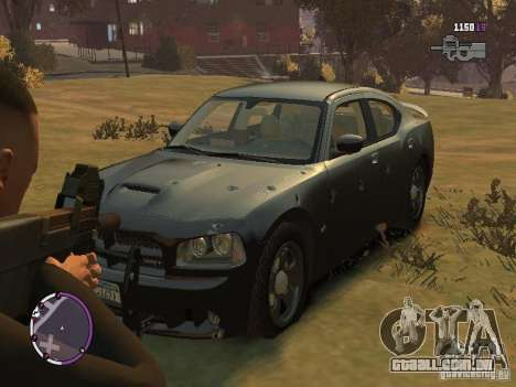 Dodge Charger SRT8 2007 FBI para GTA 4