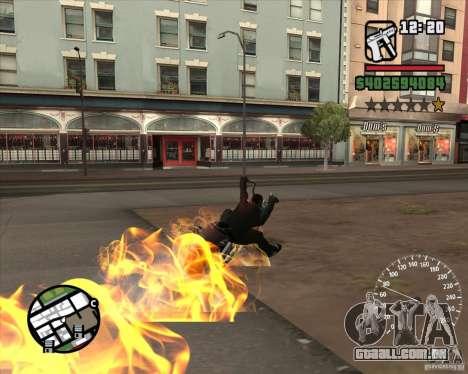 Ghost Rider para GTA San Andreas quinto tela
