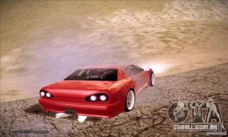 Elegy 180SX para GTA San Andreas esquerda vista