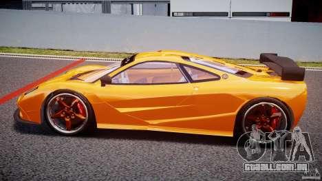Mc Laren F1 LM v1.0 para GTA 4 esquerda vista