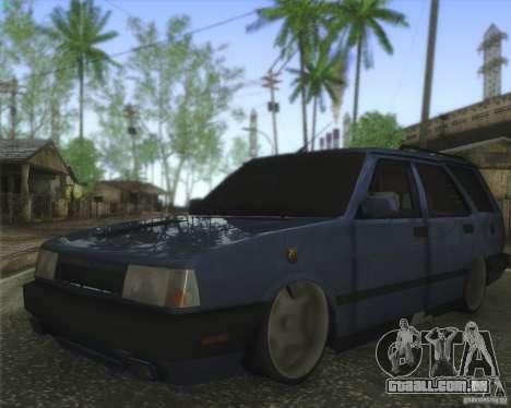 Tofas Kartal SLX para GTA San Andreas traseira esquerda vista