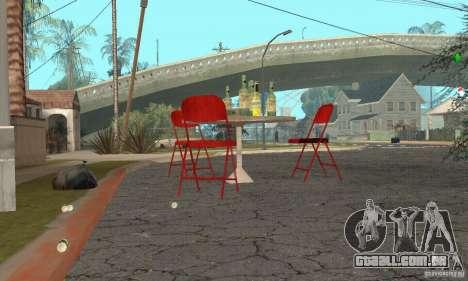 Árvore de Natal para GTA San Andreas por diante tela