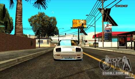 Nissan Silvia S13 Old School para GTA San Andreas vista direita