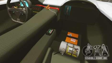 Audi R8 Spider Body Kit Final para GTA 4 vista interior