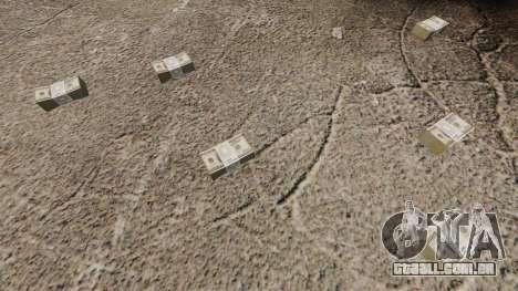 Notas dos Estados Unidos nas notas de $ 100 para GTA 4 terceira tela