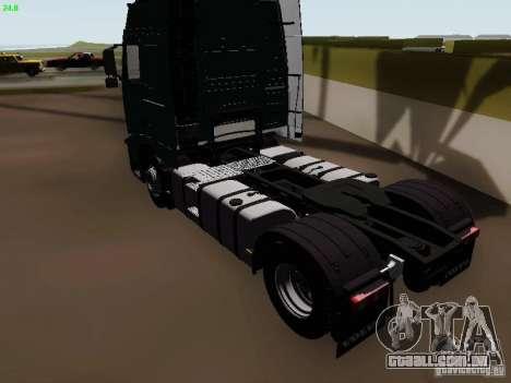 Volvo FH13 Globetrotter para GTA San Andreas vista direita