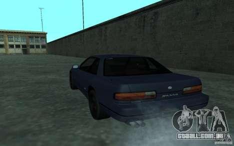 Nissan Onevia (Silvia) S13 para GTA San Andreas vista direita