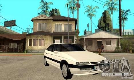 Citroen XM 1992 para GTA San Andreas vista traseira