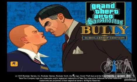 Bota clipart Bully Scholarship Edition para GTA San Andreas