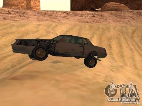Rusty imperador do GTA 4 para GTA San Andreas esquerda vista