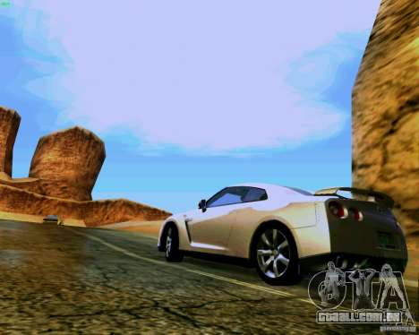ENBSeries by S.T.A.L.K.E.R para GTA San Andreas nono tela