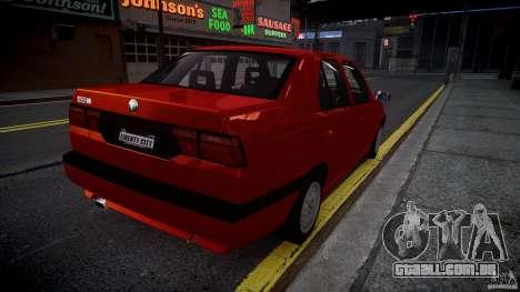 Alfa Romeo 155 Q4 1992 para GTA 4 traseira esquerda vista