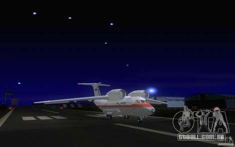 Antonov 74 para GTA San Andreas esquerda vista