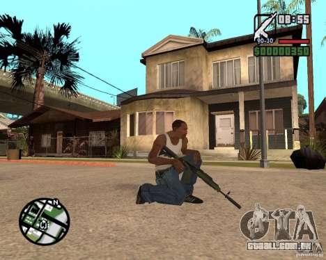 AK-47 from GTA 5 v.1 para GTA San Andreas segunda tela
