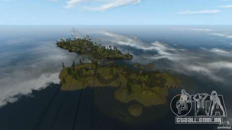 The Loggers Point para GTA 4 terceira tela