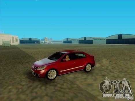 Volkswagen Voyage Comfortline 1.6 2009 para GTA San Andreas vista direita