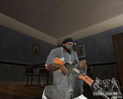 Jarra Mono Arsenal v1.2 para GTA San Andreas quinto tela