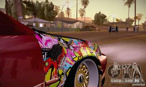 Honda Civic Tuning 2012 para GTA San Andreas vista interior