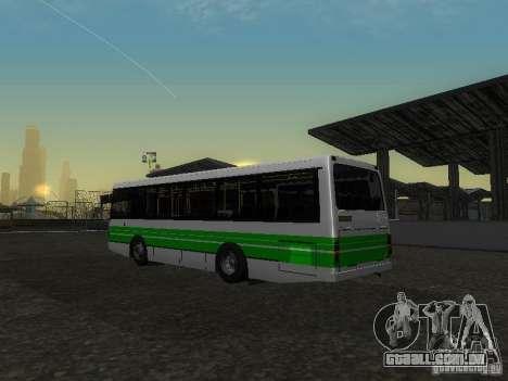 LAZ 42021 CWR para GTA San Andreas vista interior