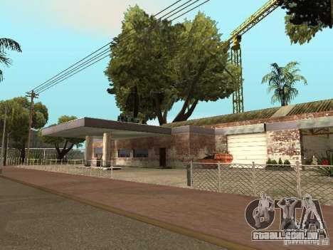 Serviço de carro aproximadamente Groove v 1.5 para GTA San Andreas
