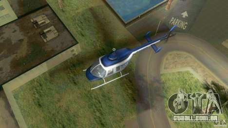 SubtopiCo SMB Maverick para GTA Vice City vista direita